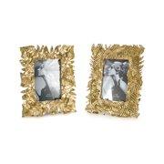 """5bb2b21b2af Set of 2 Antique Gold Photo Frame 9"""""""