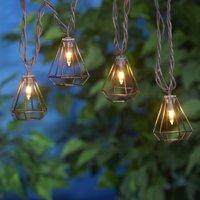 Mainstays Ruston Metal Wire Diamond Outdoor Light Set