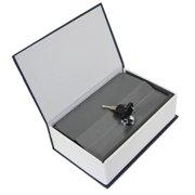 UBesGoo Hot Dictionary Book Cash Money Jewelry Safe Storage Box Security Key Lock Blue