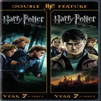 Harry Potter And The Deathly Hollows Part 1 and 2 (Walmart Exclusive) (DVD + Digital HD)