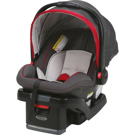 Graco SnugRide SnugLock 35 Infant Car Seat, Chili Red ()