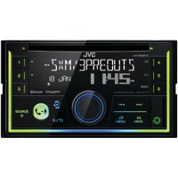 JVC Mobile KW-R930BTS Double-DIN In-Dash AM/FM CD Receiver with Bluetooth & SiriusXM Ready