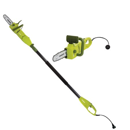 Sun Joe SWJ806E 8 Amp 8 in. 2-in-1 Convertible Pole Chain Saw