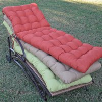 Blazing Needles 72L x 22W in. Outdoor Chaise Lounge Cushion