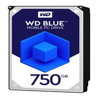 WD Blue 750GB Mobile 9.50mm Hard Disk Drive - 5400 RPM SATA 6Gb/s 8MB Cache 2.5 Inch - WD7500BPVX