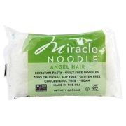 Miracle Noodle - Shirataki Pasta Angel Hair - 7 oz(pack of 4)