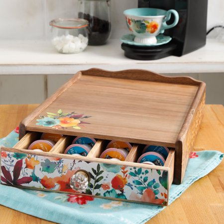 Bread Canister - The Pioneer Woman Willow 14.10-Inch x 11.30-Inch Storage Organizer