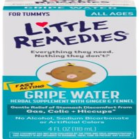 Little Remedies Little Tummies Gripe Water Herbal Supplement, 4 oz