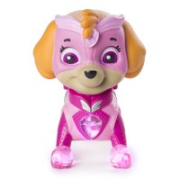 PAW Patrol - Mighty Pups Skye Figure with Light-up Badge and Paws, for Ages 3 and Up, Wal-Mart Exclusive