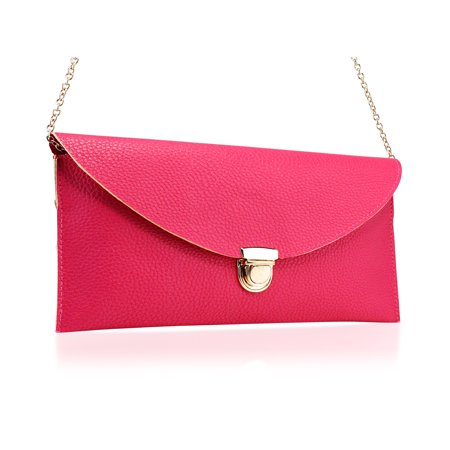 Women Handbag Shoulder Bags Envelope Clutch Crossbody Satchel (Chloe Clutch Purse)