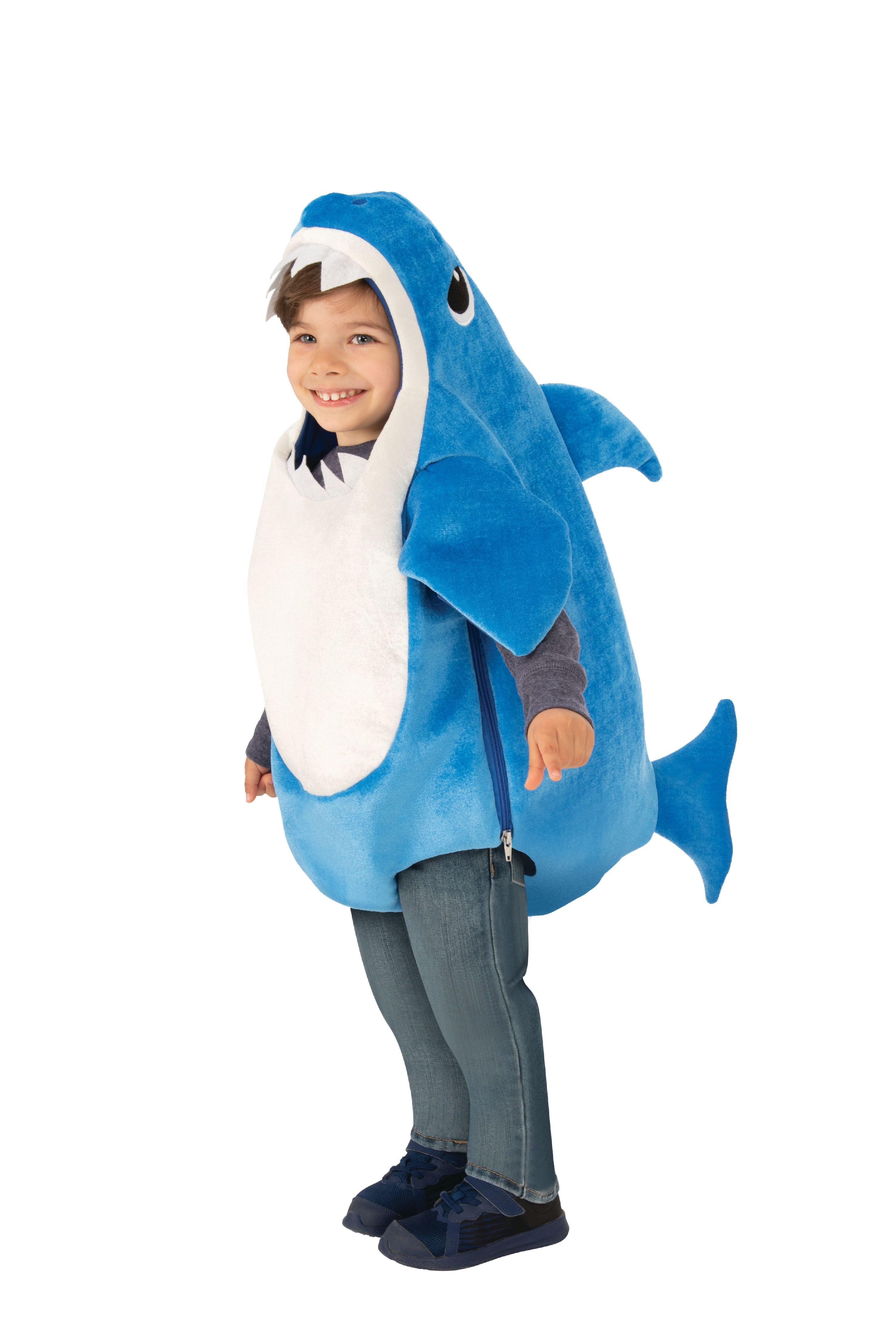 Rubies Costume Company Daddy Shark Blue Toddler Halloween Costume