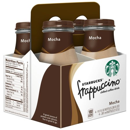 Starbucks Frappuccino Mocha Chilled Coffee Drink, 9.5 Fl. Oz., 4 Count](Coffee Halloween Drinks)