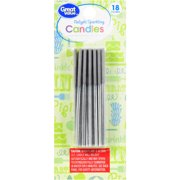 Great Value Relight Sparkling Candles 18 Count