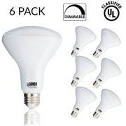 Outdoor flood bulbs sunco 6 pack br30 led 11watt 65w equivalent 5000k daylight dimmable aloadofball Images