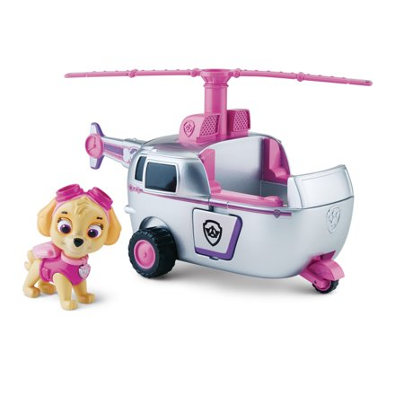 Copter Toy (Paw Patrol Skye's High Flyin' Copter, Vehicle and Figure )