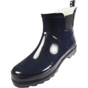 1afcfa957ff3 Norty - Ladies Ankle Rain Boots - For Women - Waterproof Rainboot For Winter  Spring and