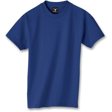 Hanes Youth Beefy-T Short Sleeve Tee (Little Boys & Big Boys) (Gold Kiss)