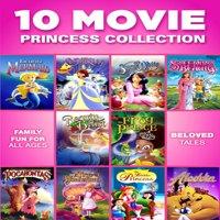 10 Movie Princess Collection (DVD)