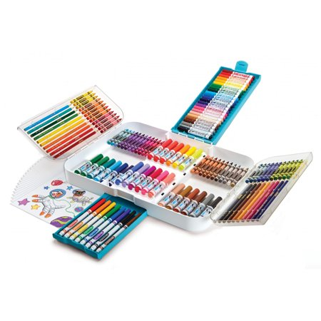 Crayola Ultra Smart Case, Coloring And Art Supplies, 150