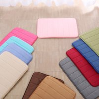 Non-slip Bathroom Mats Soft Bath Rugs Memory Foam Rugs Carpet