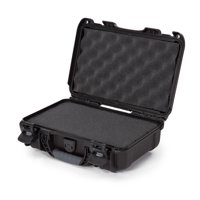 Nanuk 909 Waterproof Professional Pistol/Gun Case, Military Approved with Foam Insert - Black