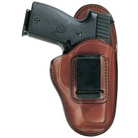 BIANCHI 100 PROFESSIONAL COLT OFFACP; CZ 75/COMPACT; DETONICS POCKET 9 LEATHER TAN