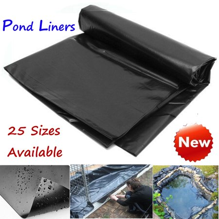 On Clearance 33-10 ft Durable Fish Pond Liner Gardens & Patio Pools PVC Membrane Reinforced Landscaping
