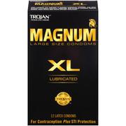 MAGNUM Large Size XL Condoms, 12ct