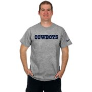Dallas Cowboys Mens Nike Wordmark Short Sleeve T-Shirt