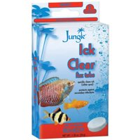 (2 Pack) Jungle Ick Clear Fizz Tablets for Cleaner Aquariums, 8-Count
