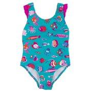 ac223b176b5ab Hatley Big Girls  Fun Fish One Piece Swimsuit