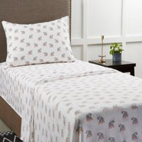Mainstays 180 Thread Count Novelty Bedding Sheet Set