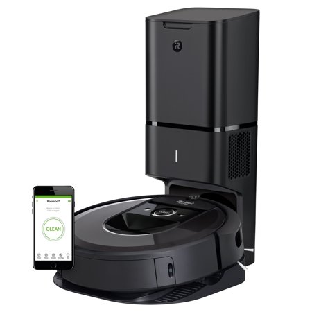 iRobot® Roomba® i7+ (7550) Robot Vacuum with Automatic Dirt Disposal- Wi-Fi Connected, Smart Mapping, Works with Alexa, Ideal for Pet Hair, Carpets, Hard (Irobot Roomba 665 Vacuum Cleaning Robot Reviews)
