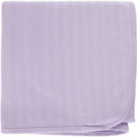 Touched by Nature Baby Boy and Girl Organic Cotton Swaddle Blanket - Purple