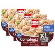 (3 Pack) Hormel Compleats XL Chicken Alfredo, 13 Ounce