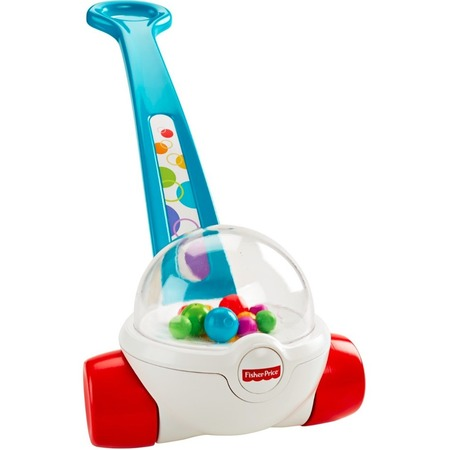 Hopi Blue Corn - Fisher-Price Classic Corn Popper Walk & Push Toy, Blue