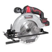 Hyper Tough HT Charge 20V 6-1/2-Inch Circular Saw, Aq8001G