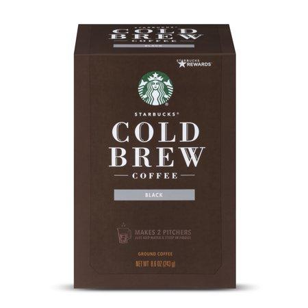 Starbucks Narino 70 Cold Brew Coffee Pitcher Packs, Medium Roast, 4 Count (4 Irish Coffee)