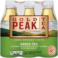 (12 Bottles) Gold Peak Green Tea, 16.9 Fl Oz
