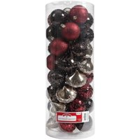 Holiday Time 50 Shatterproof Ornaments, Lodge, Timeless Design