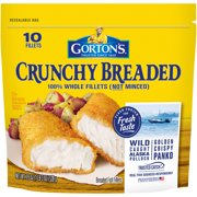 Gorton's Crunchy Breaded Fish Fillets, 10 count