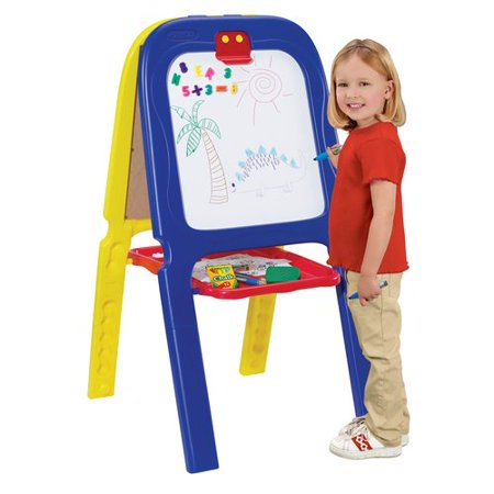 Crayola 3-in-1 Magnetic Double Easel with Letters and Numbers