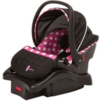 Disney Baby Light 'n Comfy 22 Luxe Infant Car Seat, Minnie Dot