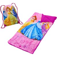 Disney Princess Slumber Set/Nap Mat with BONUS Sling Bag
