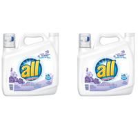 (2 pack) all Liquid Laundry Detergent Fresh & Sensitive, 141 Ounce, 94 Loads