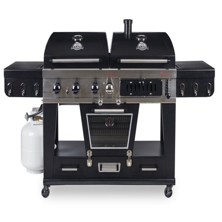 pit boss memphis ultimate 4 in 1 gas charcoal combo. Black Bedroom Furniture Sets. Home Design Ideas