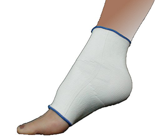 Elastic Compression Support Ankle, Foot Arch Brace With 4-Way Stretch (Small  (Best Compression Ankle Supports)