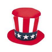da29f03255c5 Adult Uncle Sam Mad Hatter Jacobson Hat 16565