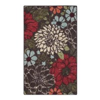 Better Homes and Gardens Sorbet Faux Hook Floral Area Rug or Runner