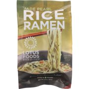 Lotus Foods Jade Pearl Rice Ramen With Miso Soup Gluten Free & Reduced Sodium, 2.8 oz